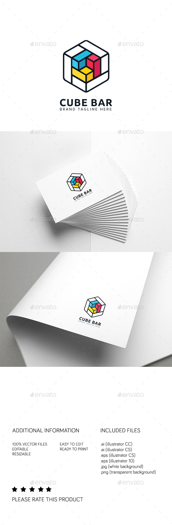 Cube Bar Logo