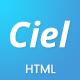 Ciel - SaaS App Landing Page Template - ThemeForest Item for Sale