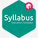 Syllabus - Education Powerpoint Template - GraphicRiver Item for Sale