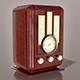 Vintage radio - 3DOcean Item for Sale