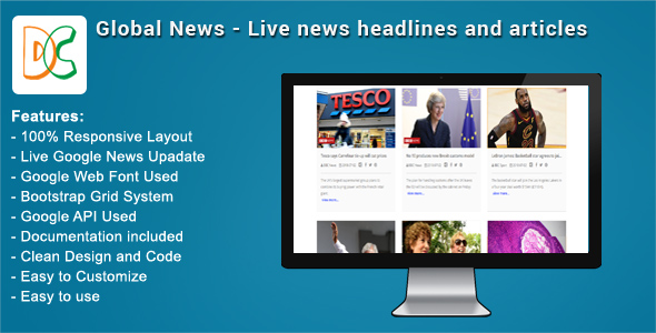 Global News - Live News Headlines and Articles