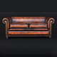 Classic Chesterfield Sofa Charles Churchill - 3DOcean Item for Sale