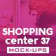 Shopping Center Vol.37 Mock Ups Pack - GraphicRiver Item for Sale