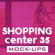 Shopping Center Vol.35 Mock Ups Pack - GraphicRiver Item for Sale