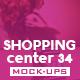 Shopping Center Vol.34 Mock Ups Pack - GraphicRiver Item for Sale