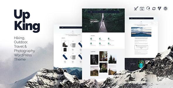 Wordpress themes for trekking websites