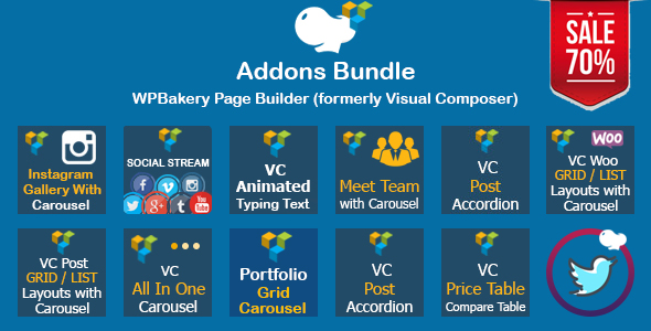 WPBakery Page Builder Addons Bundle (formerly Visual Composer)
