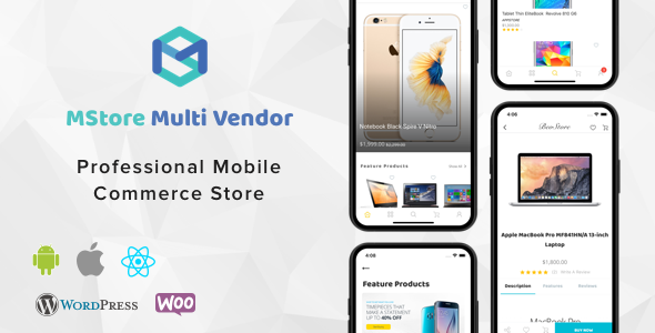 MStore Multi Vendor - Complete React Native template for WooCommerce Free Download #1 free download MStore Multi Vendor - Complete React Native template for WooCommerce Free Download #1 nulled MStore Multi Vendor - Complete React Native template for WooCommerce Free Download #1