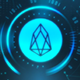 Cryptocurrency Background - EOS