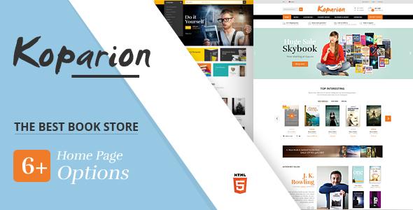 Review: Koparion – Book Shop HTML5 Template free download Review: Koparion – Book Shop HTML5 Template nulled Review: Koparion – Book Shop HTML5 Template