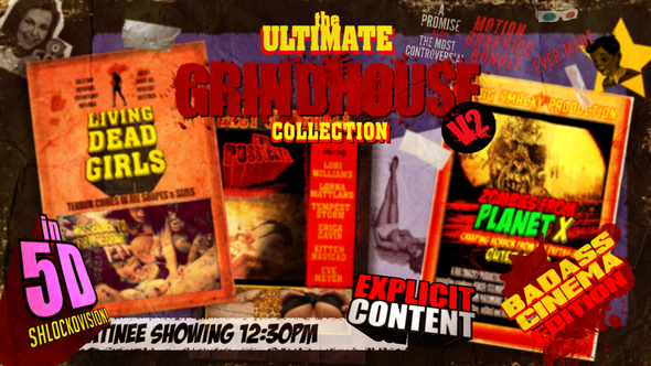 The Ultimate Grindhouse Collection I Volume 2