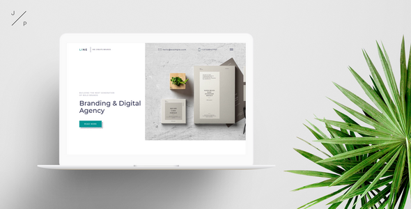 LINE - Branding Digital Agency Muse Template