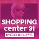 Shopping Center Vol.31 Mock Ups Pack - GraphicRiver Item for Sale