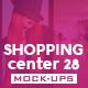 Shopping Center Vol.28 Mock Ups Pack - GraphicRiver Item for Sale