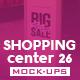 Shopping Center Vol.26 Mock Ups Pack - GraphicRiver Item for Sale