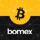 Bomex - Cryptocurrency & Bitcoin WordPress Theme - ThemeForest Item for Sale