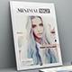 Minimal Magazine Template - GraphicRiver Item for Sale