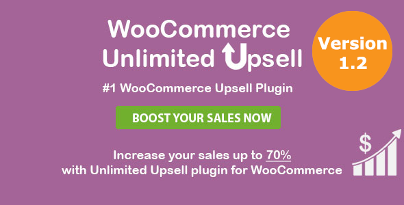 WooCommerce Unlimited Upsell & Cross sell