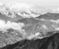 Guatemala Mountain Landscape Black and White - PhotoDune Item for Sale