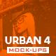 Urban Vol.4 Mock-Ups Pack - GraphicRiver Item for Sale