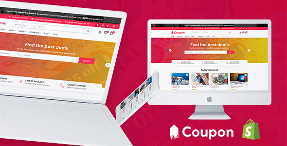 Hotdeal - Coupon & Deals Store Shopify Theme