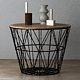 Wire Baskets & Side Tables by Ferm Living - Black - 3DOcean Item for Sale