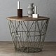 Wire Baskets & Side Tables by Ferm Living - Dusty green - 3DOcean Item for Sale