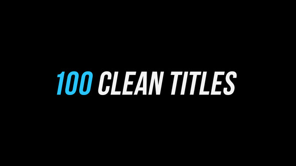 100 Clean Titles