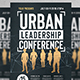Urban Leadership Conference Flyer - GraphicRiver Item for Sale