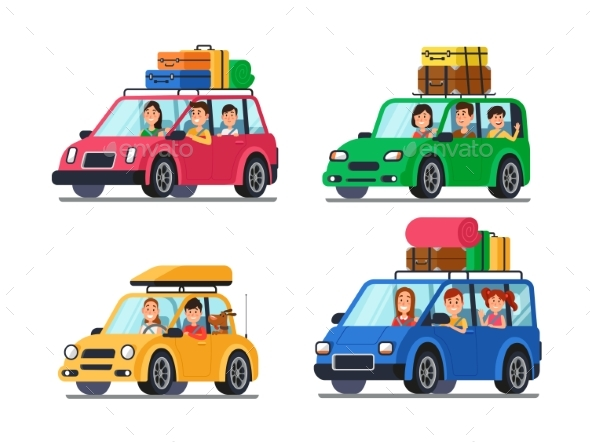 Family Traveling Cars