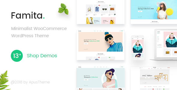 Famita - Minimalist WooCommerce WordPress Theme