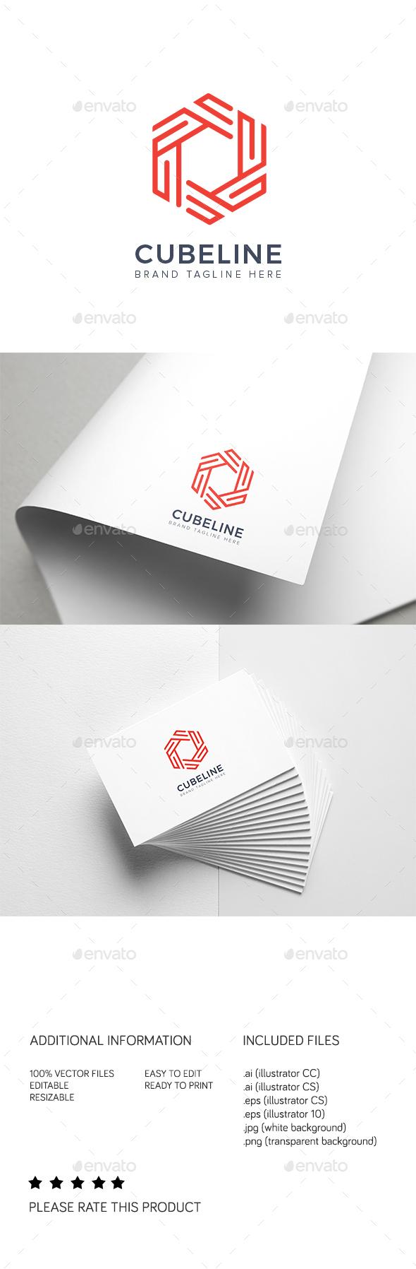 Cubeline Logo