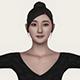 Realistic Beautiful Asian Girl - 3DOcean Item for Sale