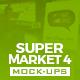 Supermarket Vol.4 Mock Ups Pack - GraphicRiver Item for Sale