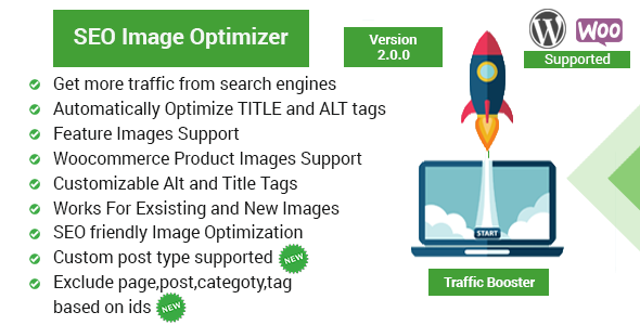 Seo Image Optimizer for WordPress and WooCommerce - Traffic Booster