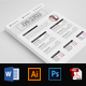 Clean CV Resume Word - GraphicRiver Item for Sale