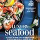 Seafood Restaurant - Set of 3 Flyer Templates - GraphicRiver Item for Sale