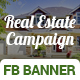 Real Estate Campaign Fb Cover & Ads - GraphicRiver Item for Sale