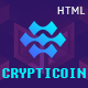 Crypticoin - Bitcoin and Cryptocurrency HTML Template - ThemeForest Item for Sale