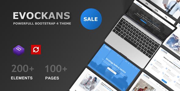 Evockans Multi-Purpose Business Joomla Template