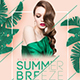Summer Breeze Party Flyer - GraphicRiver Item for Sale