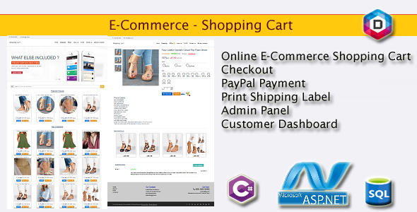 E-Commerce - Shopping Cart