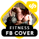 Fitness & Gym Facebook Timeline Covers - AR - GraphicRiver Item for Sale