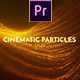Cinematic Particles Titles Mogrt - VideoHive Item for Sale