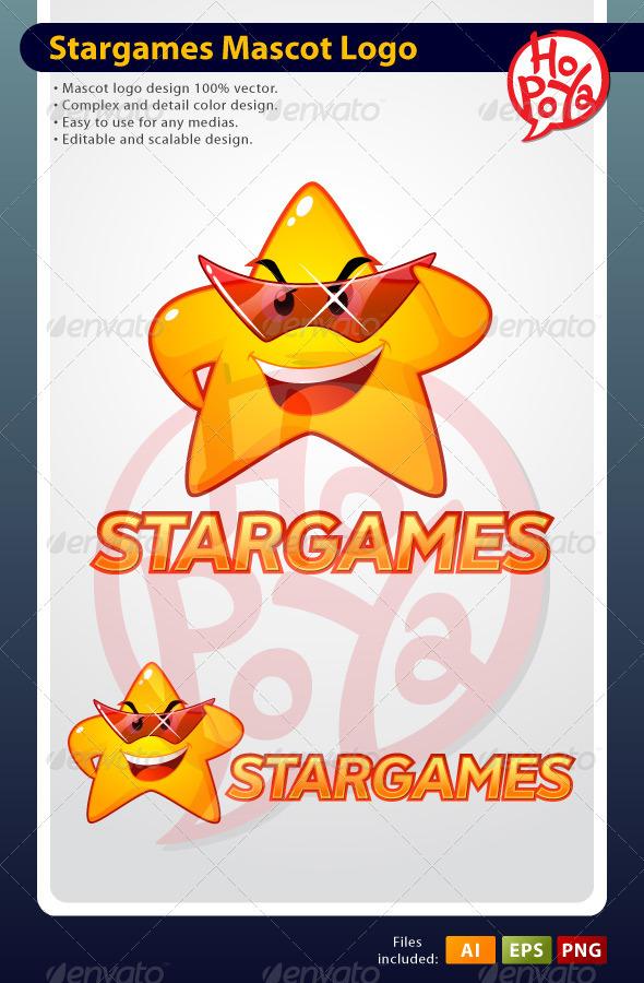 Stargames Mascot Logo