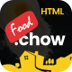FoodChow - A Food Ordering or Hotel Directory HTML Template - ThemeForest Item for Sale