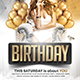 Deluxe Birthday Flyer - GraphicRiver Item for Sale