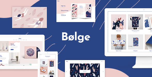 Bolge - Artist & Designer Portfolio Theme