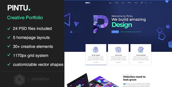Pintu - Portfolio HTML5 Template
