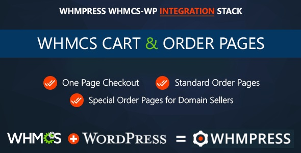 WHMCS Cart & Order Pages - One Page Checkout Download